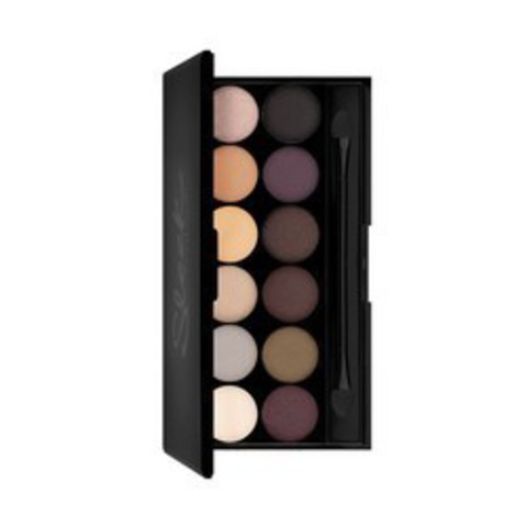 Тени для век в палетке Sleek MakeUP Eyeshadow Palette I-Divine, тон 601 Au Natural, 12 тонов