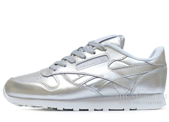 Кроссовки Женские Reebok Classic Leather Silver