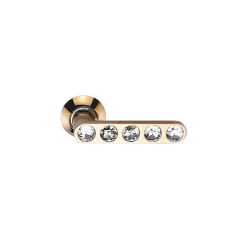Ручка Sillur 200 золото / кристаллы