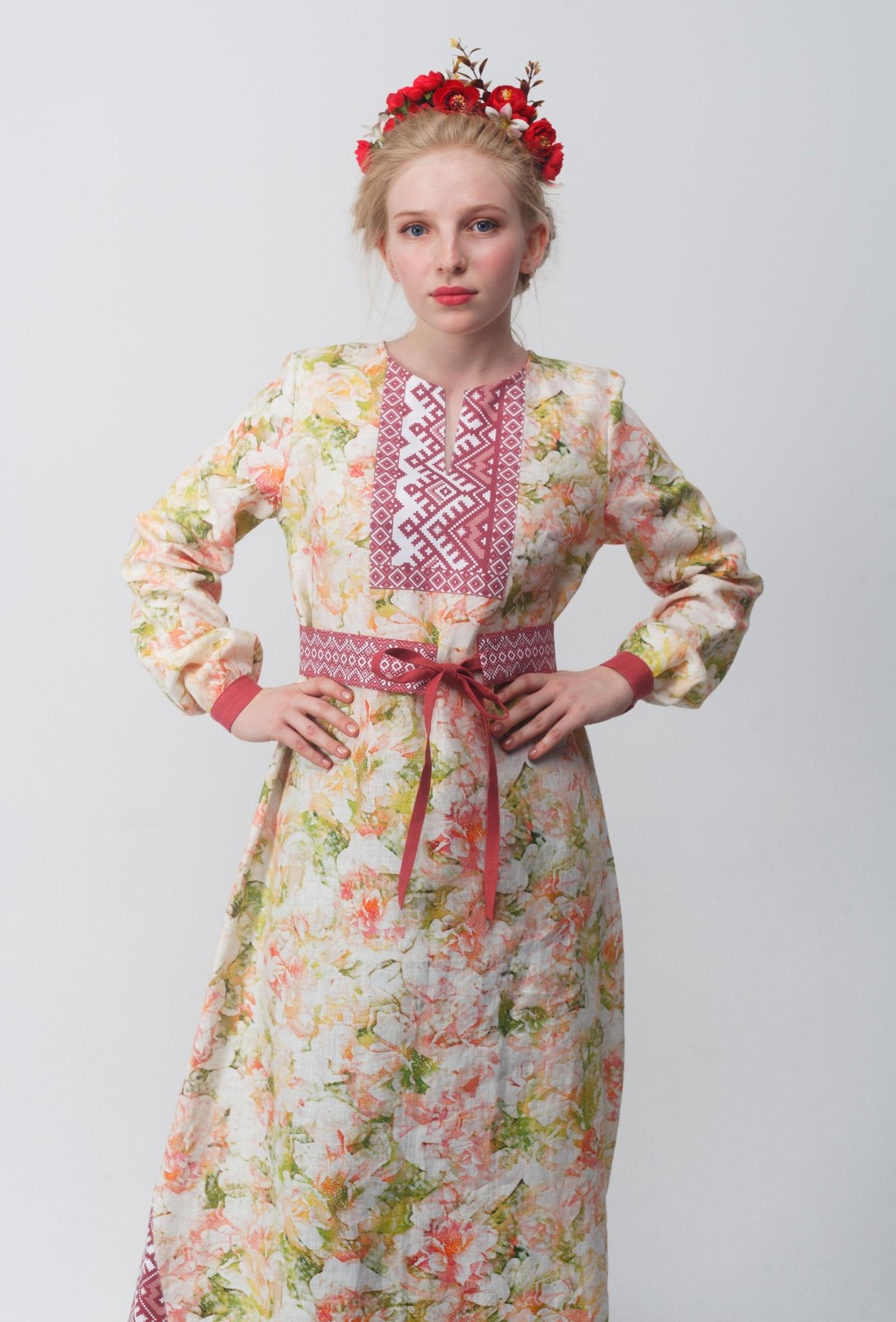 Платье Времена года на Эле