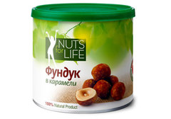 Фундук в карамели Nuts for Life, 115г