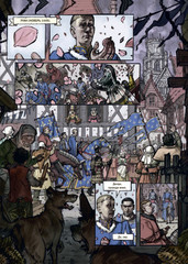 Жанна Д'Арк. Биография в комиксах