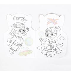 064-3081 Раскраска с наклейками «Супер герои»