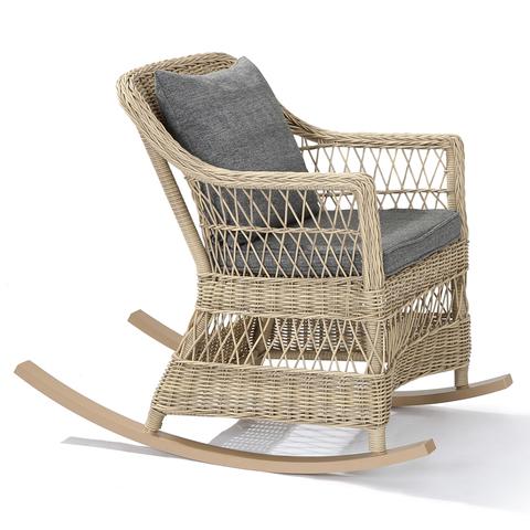 Кресло-качалка «Саванна» из искусственного ротанга