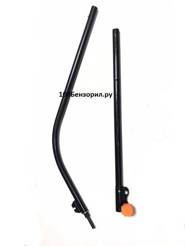 Штанга для электротриммера  нижняя+ верхняя в сборе труба 25.4мм /вал квадрат 5.1X5.1мм