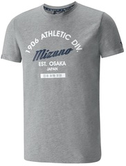Футболка беговая Mizuno Authentic Tee мужская