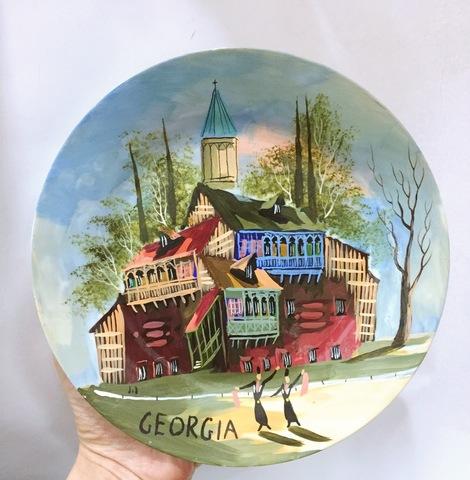 Тарелка сувенирная Тбилиси Грузия