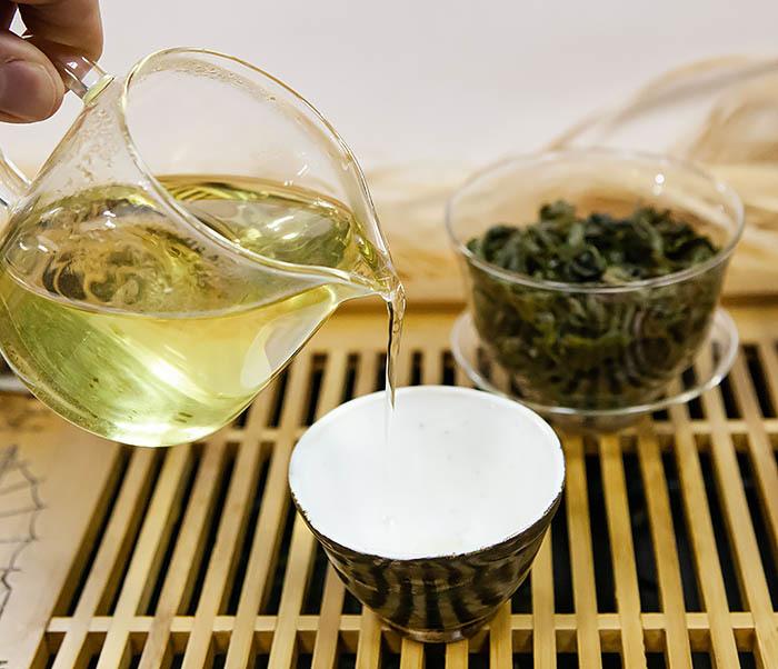 TEA-CH113-2 Китайский чай «Те Гуань Инь» из Си Пин (высокогорный сорт «АА», 50 гр) фото 12
