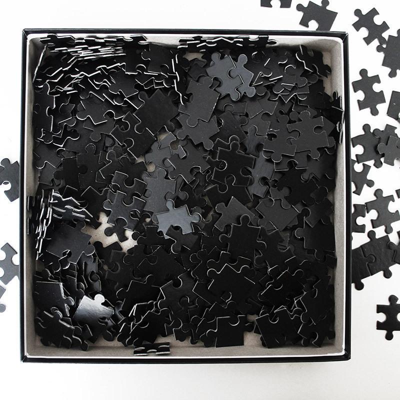 Дзен пазл: Черный квадрат