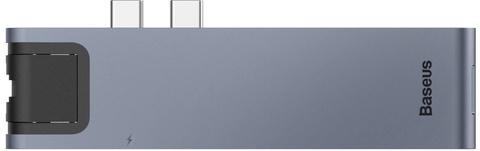 .USB-концентратор Baseus Thunderbolt C+Pro (CAHUB-L0G)