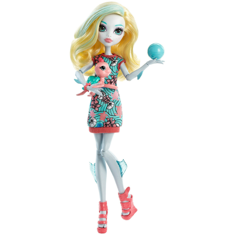 Кукла Лагуна Блю (Lagoona Blue) с питомцем - Монстер Хай, Mattel