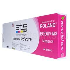 Картридж для Roland Eco - UV Magenta 220 мл