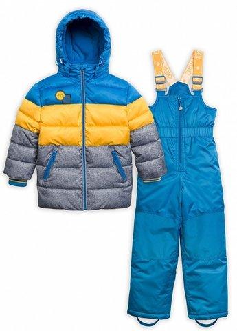 Pelican BZKW3074  Комплект зимний для мальчиков Освежайс синий
