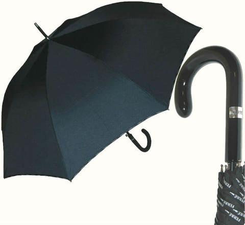 Купить онлайн Зонт-трость Ferre GF -LA3015-gr-Nero grande в магазине Зонтофф.
