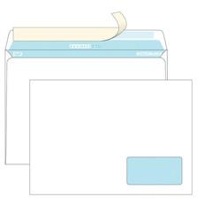 Конверты С4 BUSINESSPOST стрип прав.ниж окно (55x110)100г/м2 250шт/уп