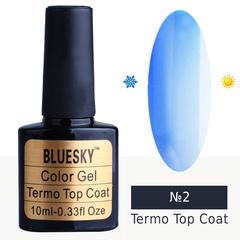 Bluesky, Гель-лак Termo top coat №02, 10 мл