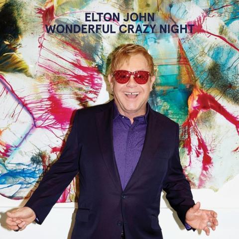 Elton John / Wonderful Crazy Night (LP)