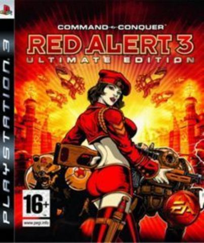 PS3 Command & Conquer: Red Alert 3 - Ultimate Edition (английская версия)