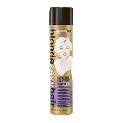 Sexy Hair Sulfate-Free Bright Blonde Shampoo - Шампунь корректирующий Сияющий блонд без сульфатов
