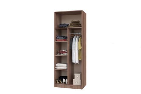 Шкаф 2-х створчатый с перегородкой БТС Венге/лоредо