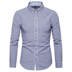 Мужская рубашка в клетку Slim Fit