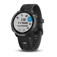 Спортивные смарт часы Garmin Forerunner 645 Music серые с черным ремешком 010-01863-32