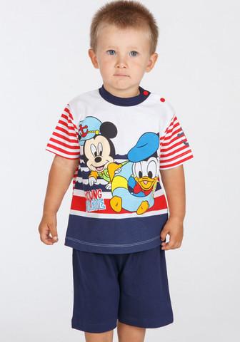Футболка и шорты для дома с Mickey & Donald