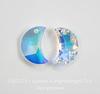6722 Подвеска Сваровски Moon Crystal AB (правая)(16 мм)