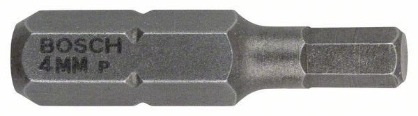 3 биты для шуруповерта HEX 4Х25 XH Bosch 2607001724