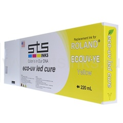 Картридж для Roland Eco - UV Yellow 220 мл
