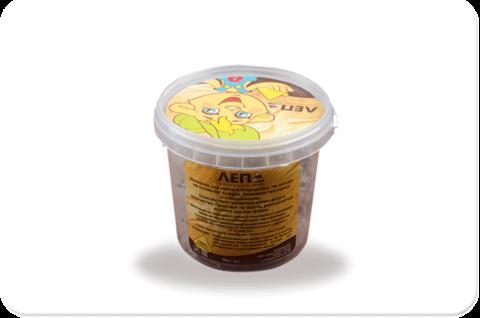 Трогательный песок ЛЕПА с минеральным красителем, желтый 1 кг