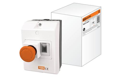 Защитная оболочка с кнопкой IP55 TDM