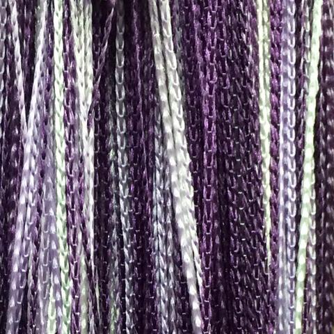 Кисея радуга белая, сиреневая, фиолетовая оптом. Арт.1-12-205