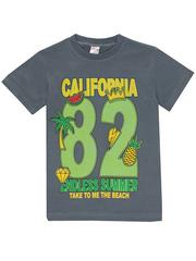 1178-6 футболка детская, серая