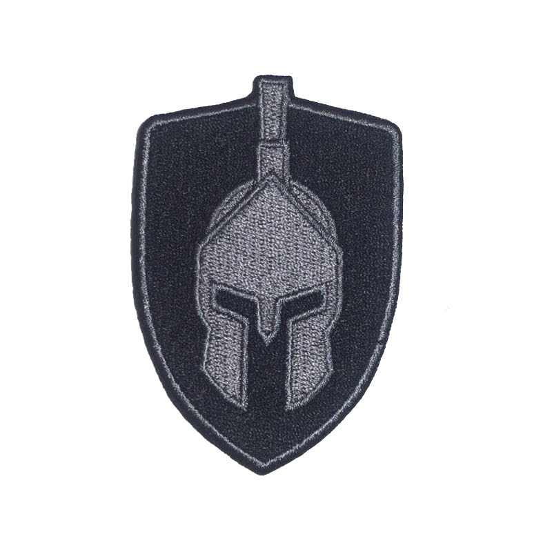 Щит Спартанец серый