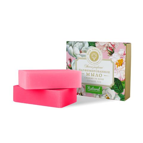 МДП Набор парфюмированного мыла Очарование розы, 200г