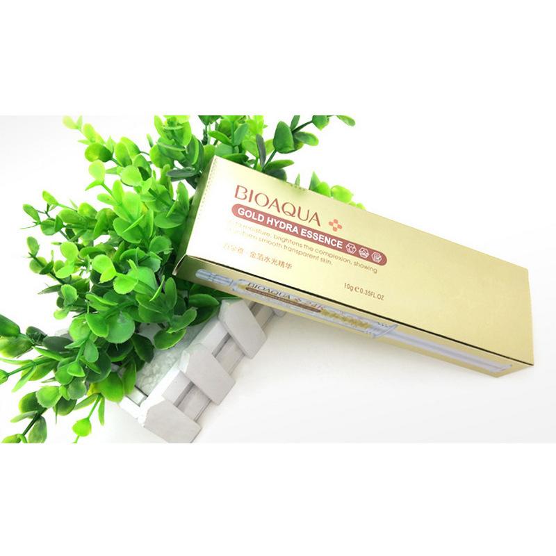 Сыворотка с гиалуроновой кислотой Gold Hydra Essence, 10мл