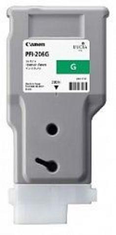 Картридж Canon PFI-206G green (зеленый) для imagePROGRAF 6400/6450