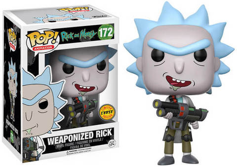 Фигурка Funko POP! Vinyl: Rick  Morty: Weaponized Rick 12439 (CHASE)