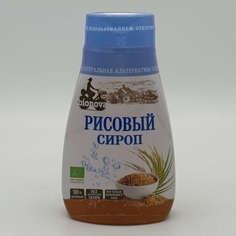 Рисовый сироп органический сахарозаменитель BIONOVA, 230 гр