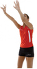 Майка Asics Singlet Aruba Red Жен волейбольная Распродажа
