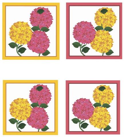 Салфетки 4 шт 40x40 Blonder Home Florence розовые
