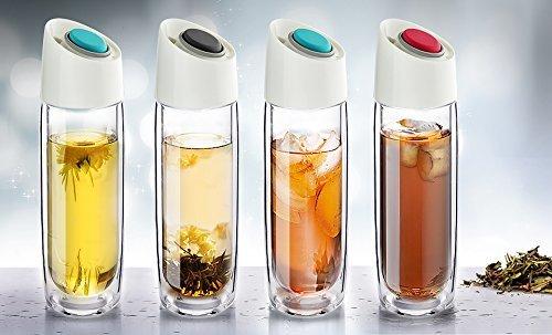 Термокружка Asobu Simply clear (0,4 литра) красная