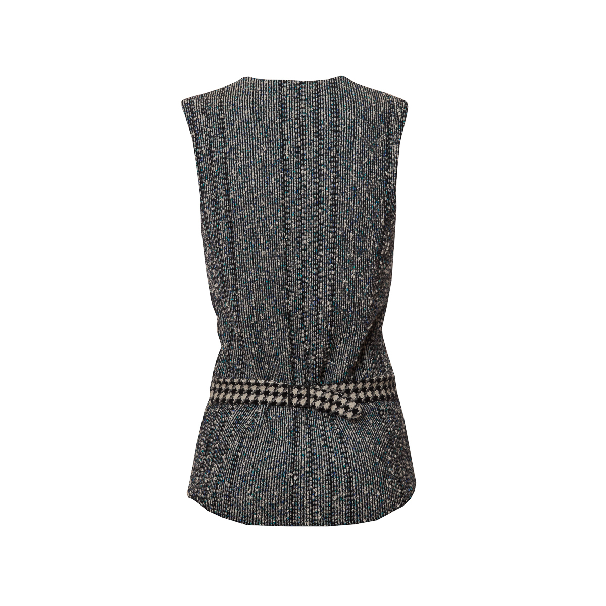 Стильный жилет из твида от Chanel, 34 размер.