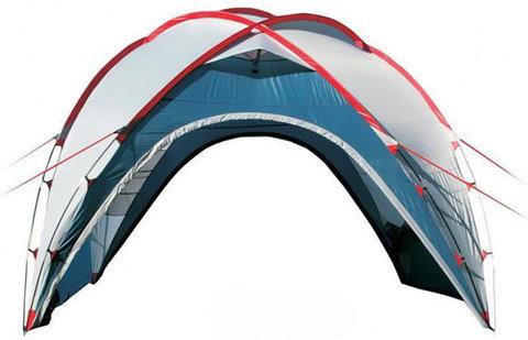 Туристический тент-шатер Campack Camper Space One (со стенками) синий