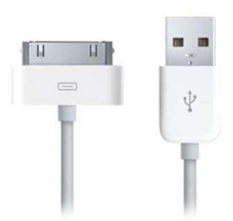 Apple Dock Connector to USB Cable (MA591G/B) оригинал