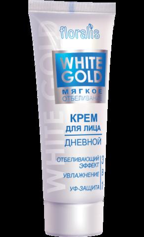 Floralis White gold Крем для лица дневной 3 в 1