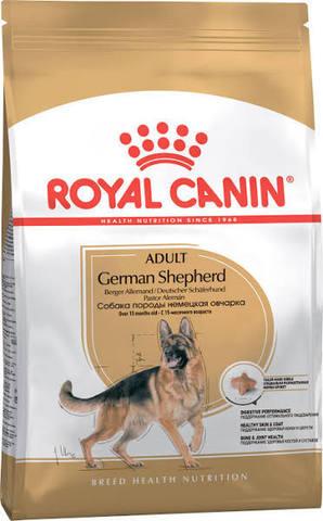 Royal Canin German Shepherd  Adult Немецкая овчарка для здоровья кожи и шерсти 11 кг