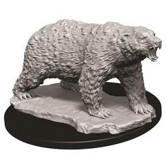 WizKids Deep Cuts Unpainted Miniatures - Polar Bear