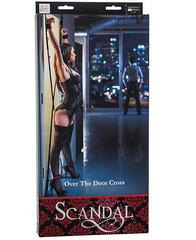 БДСМ фиксация на дверь Scandal Over The Door Cross